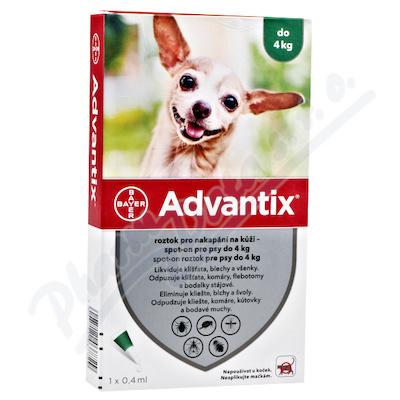 Advantix pro psy do 4kg spot-on a.u.v.1x0.4ml