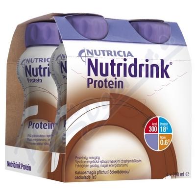 Nutridrink Protein s př. čoko.por.sol.4x200ml Nový