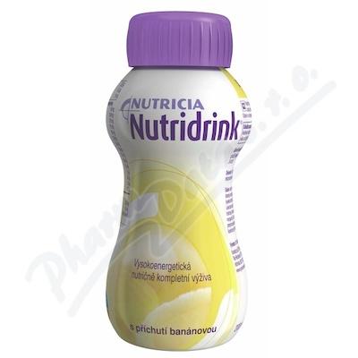 Nutridrink s příchutí banánovou 1x200 ml