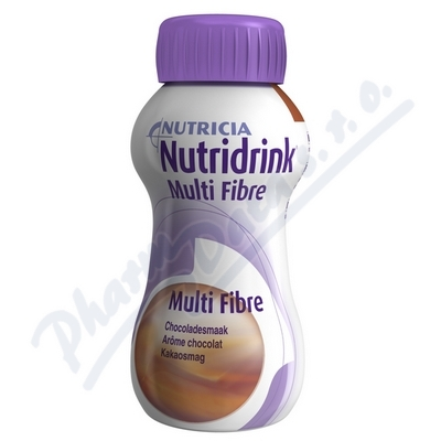 Nutridrink Multi Fibre s př.čoko. por.sol. 1x200ml