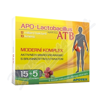 APO-Lactobacillus ATB cps.15+5 Alphega