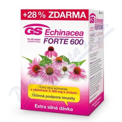 GS Echinacea Forte 600 tbl.70+20 2016