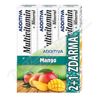 Sada Additiva MM 2+1 mango šumivé tbl.3x20ks