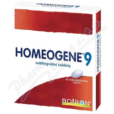 Homeogene 9 tbl.slg.60