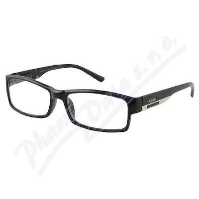 Brýle čtecí +1.50 FLEX černé s kov.doplňkem