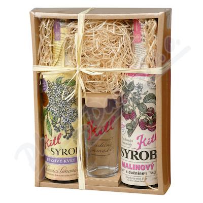 Kitl Syrob Bez+Malina dárkové balení 2x500ml