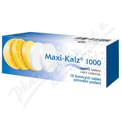 Maxi-Kalz 1000mg tbl.eff.10