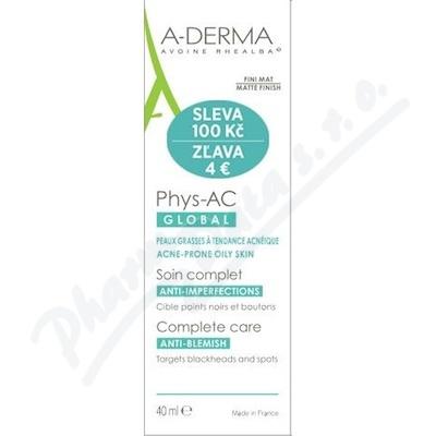A-DERMA Phys-AC Global Péče 40ml SLEVA