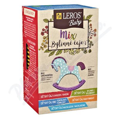 LEROS BABY Mix dětské bylinné čaje n.s.5x4ks