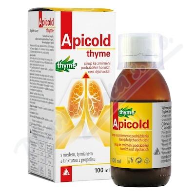 APICOLD thyme sirup 100 ml