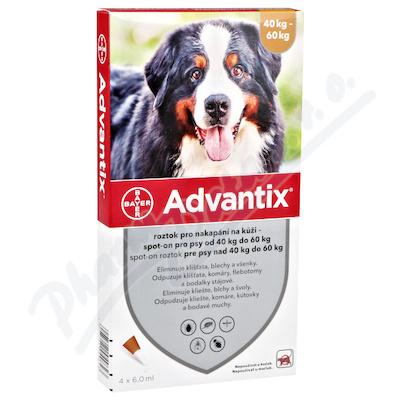 Advantix pro psy 40-60kg spot-on a.u.v.4x6ml