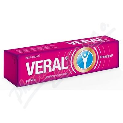 Veral 10 mg/g gel 1x50g II