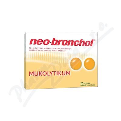 Neo-bronchol 15mg pastilky 20
