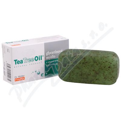 Tea Tree Oil mýdlo s lístky čajov.austr.NEW 90g