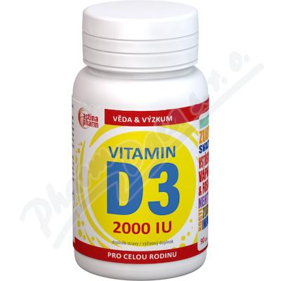 Astina Vitamin D3 2000IU cps.90