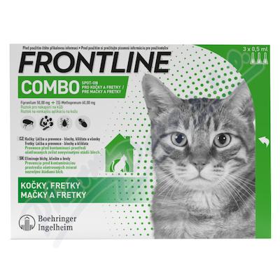 Frontline Combo Spot-on cat a.u.v.sol.3x0.5ml