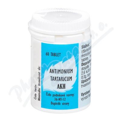 Antimonium tartaricum AKH tbl.60