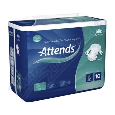 Kalhotky absorpční Attends Slip Active 10 L 28ks