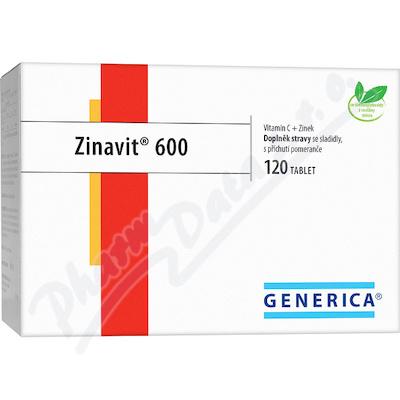Zinavit 600 cucavé tablety 120 ks Generica
