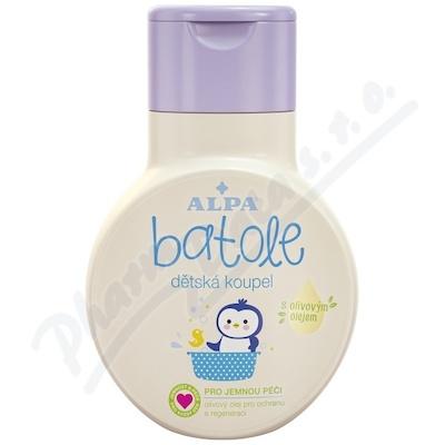 Batole dětská koupel s olivovým olejem 200ml
