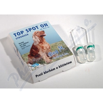 Top Spot On Stronger a.u.v. sol. 2x1 ml (dog M)