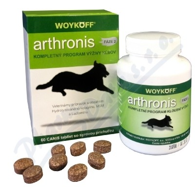 Arthronis fáze 2 CANIS sýrová příchuť tbl.60
