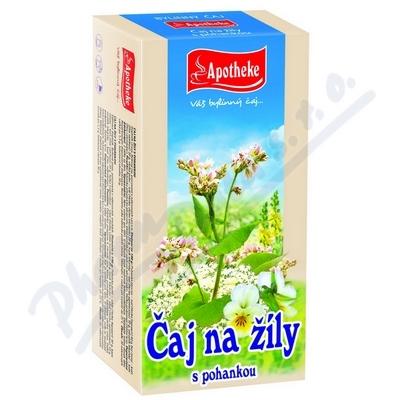 Apotheke Na žíly s pohankou čaj 20x1.5g
