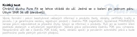 Chránič sluchu Pura Fit/pár MOLDEX