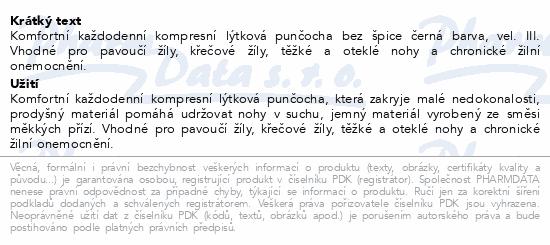 JOBST Opaque II.KT punč.lýtk.bez šp.vel.III čer.