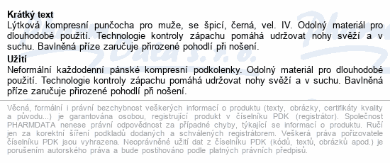 JOBST forMen Explore II.KT punč.lýtk.+šp.v.IV čer.