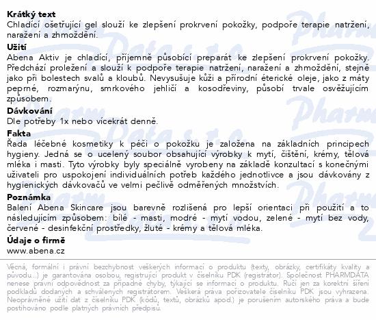 ABENA Skincare chladící a ošetř.aktiv gel 250ml